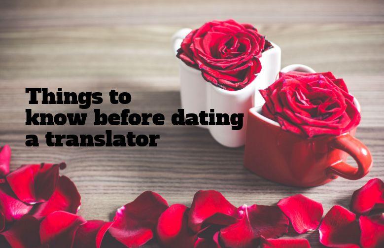 dating a translator dating pool 30s